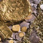 Algo difícil de creer, germinas plantas con monedas y joyas.