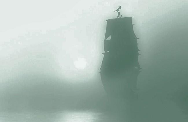 Una brecha de tiempo abierta en el mar, es la historia de algo insólito