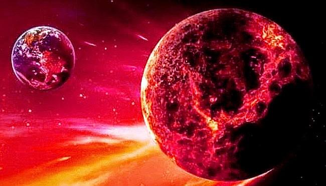 Planeta X, Némesis, se dice que crea las hecatombes que sufre la tierra cada 15 años.