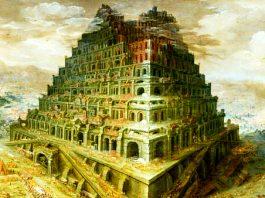 Uno dicen que existió, la torre de Babel, otros dicen que no.