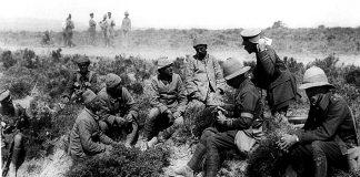 Regimiento Real de Norfolk desaparecidó en la guerra Dardanelos