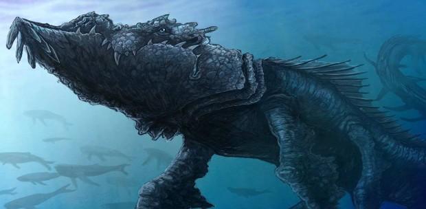 Leviatán, Mitos y Leyendas Monstruo del Caos #333333