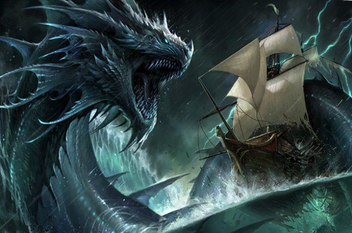 Leviatán, Mitos y Leyendas Monstruo del Caos #111111