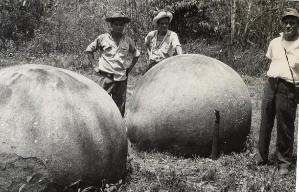 Las Esferas de Granito de Costa Rica #22222